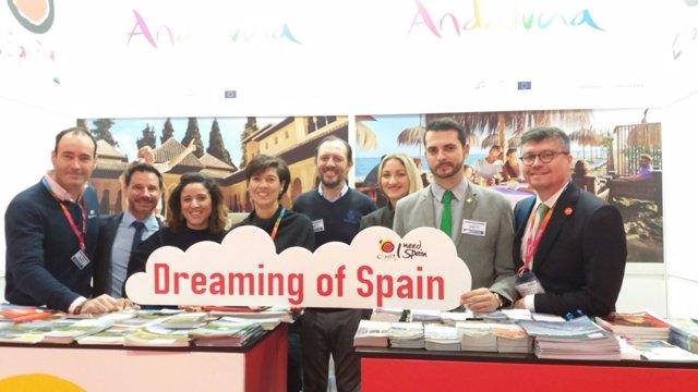Huelva participa en la Holiday World Show de Dublín