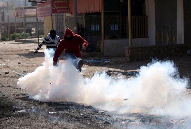Disturbios entre palestinos e israelíes en Yenín, Cisjordania