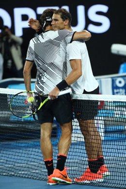 Roger Federer Rafa Nadal Abierto Australia