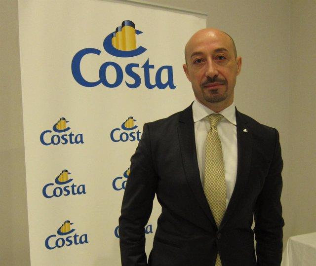 Raffaele D'Ambrosio, director general de Costa Cruceros para España y Portugal