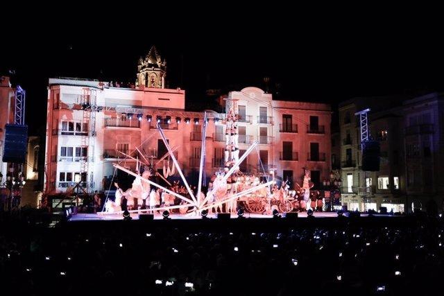 Espectáculo en Reus, Capital de la Cultura Catalana 2017