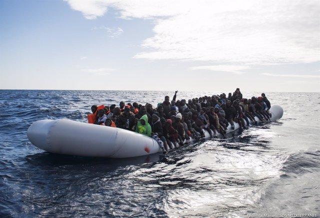 Inmigrantes rescatados - enero 2017