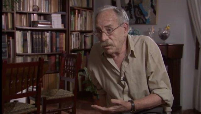 Doro Balaguer en el documental  para la muestra 'Pintura, política, vida'