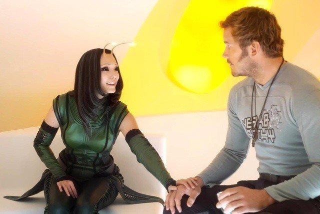 Pom Klementieff como Mantis en Guardianes de la Galaxia Vol. 2