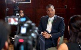 Carmena recibe este lunes al presidente de Ecuador, de visita oficial en España