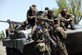 Al menos cinco militares ucranianos muertos en una ofensiva de los prorrusos en el este de Ucrania