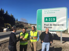 La Junta mejora la seguridad vial en el acceso a Cazorla (Jaén) desde la A-319