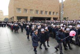 Miles de alumnos de los Centro de 'Escuelas Católicas' celebran el 'Día Escolar de la no violencia y la paz'
