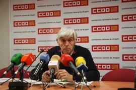 La siniestralidad laboral aumenta un 11% en la Comunidad aragonesa en 2016, según CC.OO.