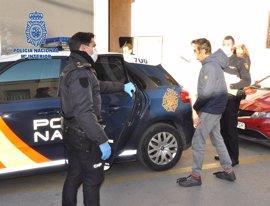 La Policía Nacional detiene en Alcantarilla a un veterano ladrón