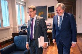 """Feijóo traslada el apoyo de Galicia para lograr un pacto educativo, que ve """"posible"""""""