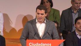 """Rivera preguntará a Rajoy en el Pleno por qué no quiere investigar el """"agujero de las cajas"""""""