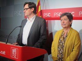 El PSC saluda la candidatura de Sánchez como la de cualquier otro compañero