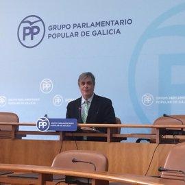 """Puy (PPdeG) rechaza """"lecturas"""" sucesorias de Feijóo en la decisión los conselleiros que seguirán en el Parlamento"""