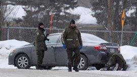 Las autoridades de Quebec aclaran que sólo uno de los dos detenidos es sospechoso