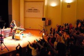 La Compañía Musical Pablo Nahual ofrecerá en la Diputación audiciones a 700 escolares