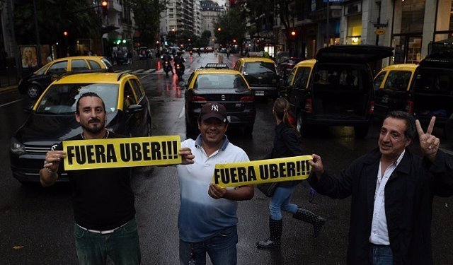 Uber. Buenos Aires