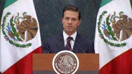 """Peña Nieto asegura que no ha logrado """"acuerdos"""" con Trump en """"ninguna materia"""" tras hablar con él"""