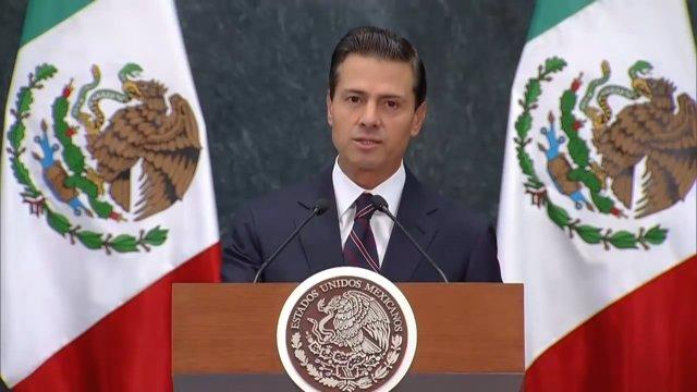 Peña Nieto cancela viaje a EEUU tras amenaza de Trump