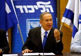 """Netanyahu culpa a los """"medios de izquierdas"""" de tergiversar su 'tuit' sobre el muro de Trump"""