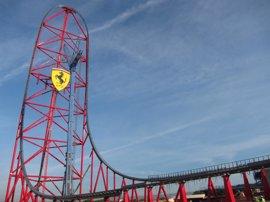 Salen a la venta las entradas de Ferrari Land por 60 euros con acceso también a PortAventura