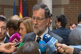 """Rajoy, sobre el veto migratorio de Trump: """"Yo no estoy a favor de los vetos ni de las fronteras"""""""