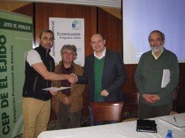 Docentes de 40 centros participan en las Jornadas Provinciales de Ecoescuelas inauguradas en El Ejido (Almería)