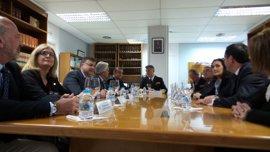"""Sanz anuncia """"medidas complementarias"""" con """"más ayudas"""" para municipios afectados por las inundaciones"""