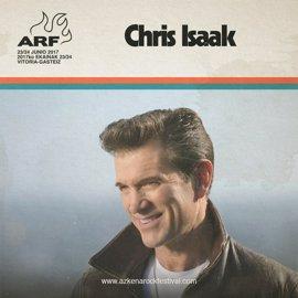 Chris Isaak será uno de los cabeza de cartel del Azkena Rock Festival de Vitoria
