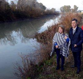 La Junta retoma trabajos de mejora ambiental en el entorno del Guadalete para fomentar el uso público de la zona