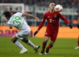 Ribery se lesiona y podría ser baja contra el Arsenal