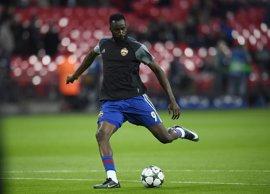 El delantero marfileño Lacina Traoré, nuevo jugador del Real Sporting
