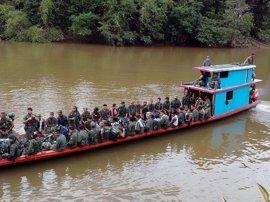 La desmovilización total de las FARC se posterga hasta el jueves