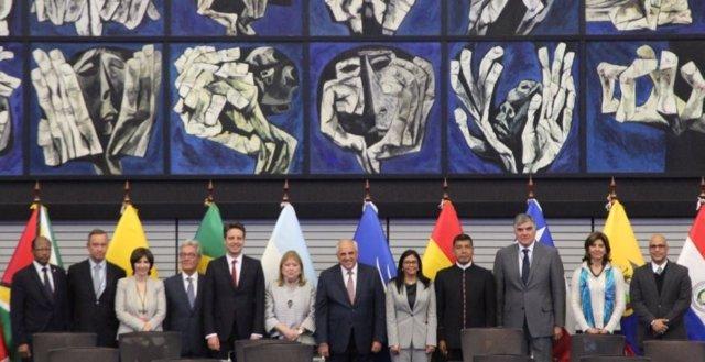 Presentación de último informe de Samper como secretario general de UNASUR