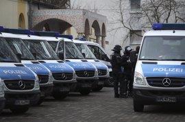 Detenido un solicitante de asilo tunecino en un gran operativo antiterrorista en Alemania