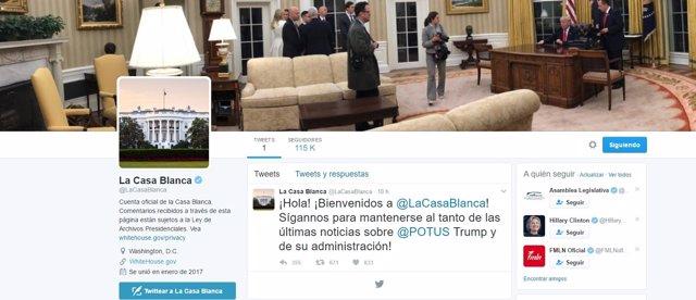 Casa Blanca twitter