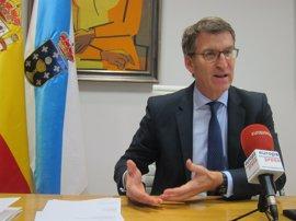 """Feijóo, sobre la continuidad de Rajoy: """"Queda mucho presidente por delante"""""""