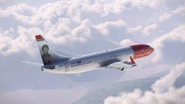 Norwegian incorpora la imagen de Rosalía de Castro a uno de sus aviones