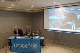 """Unicef hace una llamada en Asturias buscando """"captar"""" 3.300 millones de dólares para atender a 48 millones de niños"""