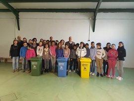 Epremasa inicia en Rute (Córdoba) una campaña de reciclaje entre escolares
