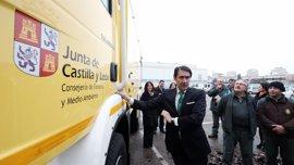Junta renueva su flota con cuatro autobombas para incendios forestales en León, Palencia, Valladolid y Zamora