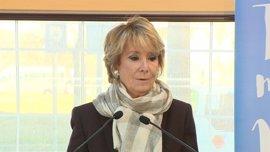 """Aguirre defiende que siendo presidenta se hicieron """"enormes"""" inversiones en hospitales como 12 de Octubre y La Paz"""