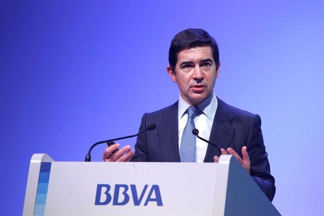 Carlos Torres, CEO de BBVA