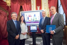 La provincia de Cádiz plasmada en un sello de Correos