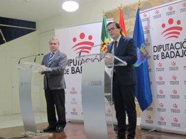 Ayuntamiento y Diputación de Badajoz coinciden en ubicar la Escuela de Idiomas en el Hospital Provincial