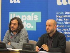 """En Marea critica que el PP casi no aceptó enmiendas a las cuentas pero pactó """"finiquitar la planificación urbanística"""""""
