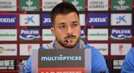 """Héctor Hernández: """"La llamada del Granada me motivó mucho"""""""