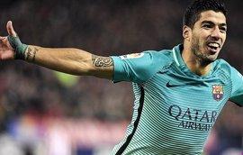 """Luis Suárez: """"Estamos contentos, pero no está nada dicho"""""""