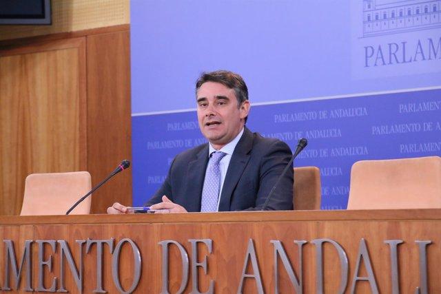 El diputado de Podemos Juan Ignacio Moreno Yagüe