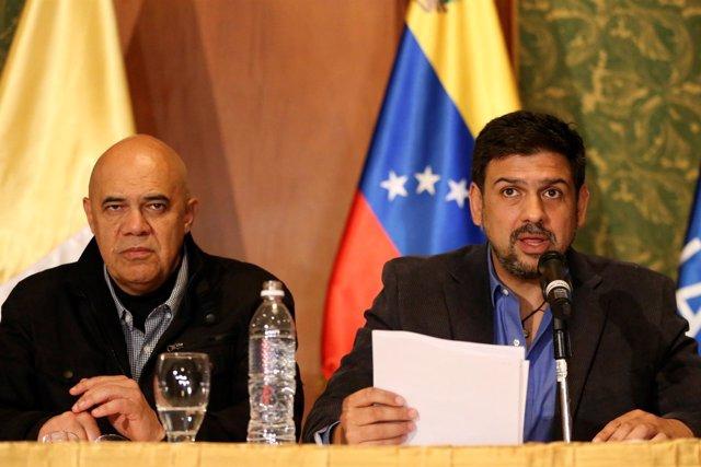 Carlos Ocariz y Chuo Torrealba